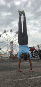 Obsessed with handstanding -- everywhere!